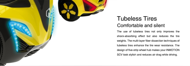 inmotion scv tubeless tires