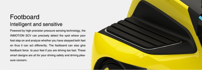 foot board for the inmotion scv