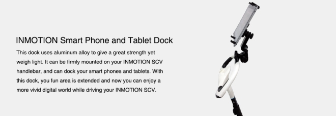 inmotion scv r1 ipad docking station