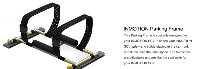 inmotion scv r1 parking frame